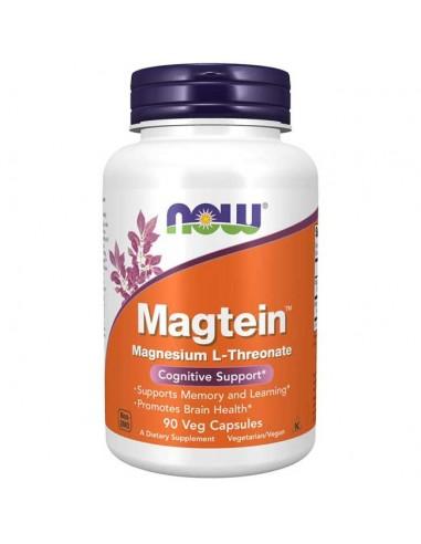 Now Foods - Magtein - 90 Vegan Kapseln